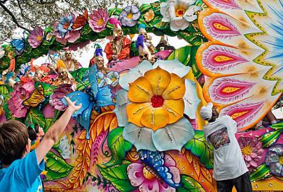 Parade Photograph - Rex Mardi Gras Parade Ix by Steve Harrington