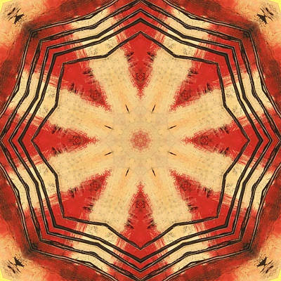 Digital Art - Rhythm by Kathy Sheeran