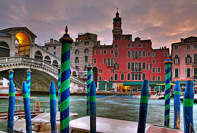 Photograph - Rialto Bridge. Venezia by Juan Carlos Ferro Duque