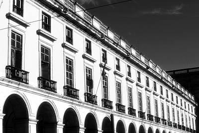 Black Commerce Photograph - Ribeira Palace by John Rizzuto