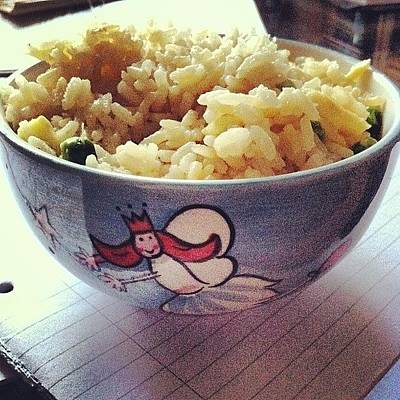 Fairy Photograph - #rice #for #lunch #in #my #amazing by Megan Shuttlewood