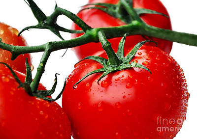 Photograph - Rich Red Tomatoes by Kaye Menner