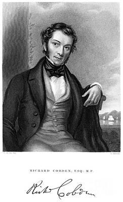 Richard Cobden (1804-1865) Art Print by Granger