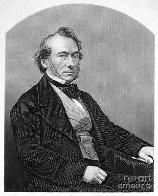Richard Cobden (1804-1865). /nenglish Politician And Economist. Steel Engraving, English, 19th Century Art Print