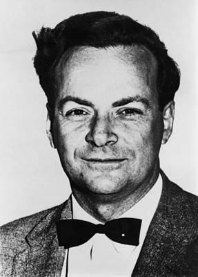 Richard Feynman 1918-1988, American Art Print by Everett