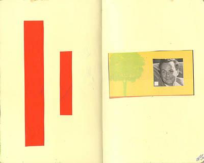 Feynman Mixed Media - Richard Feynman by Jennifer Moore