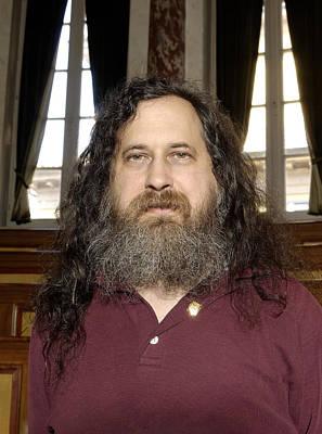 Richard Stallman, Software Developer Art Print
