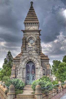 Atlanta Photograph - Richards Mausoleum by Danny Price
