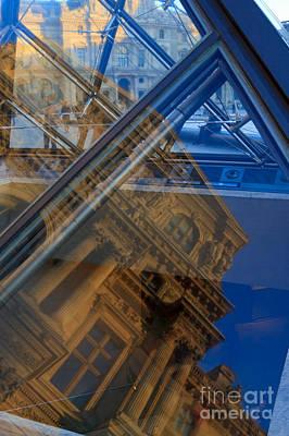 Richelieu Photograph - Richelieu Wing Of The Louvre by Louise Heusinkveld