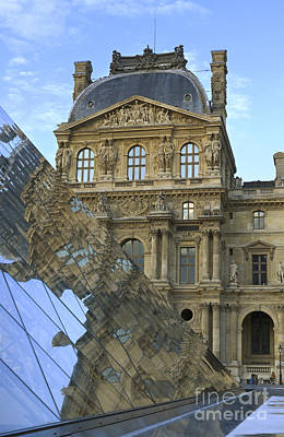 Richelieu Photograph - Richelieu Wing Of The Louvre Museum In Paris by Louise Heusinkveld