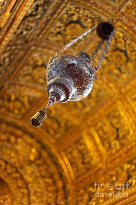 Richly Decorated Ceiling Art Print by Gaspar Avila