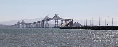 Richmond-san Rafael Bridge In California - 5d18433 - Long Art Print