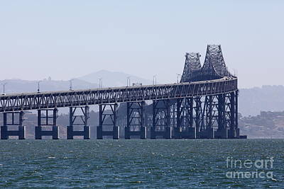 Richmond-san Rafael Bridge In California - 5d18461 Art Print
