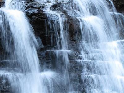 Ricketts Glen Waterfall 3942 Art Print by David Dehner