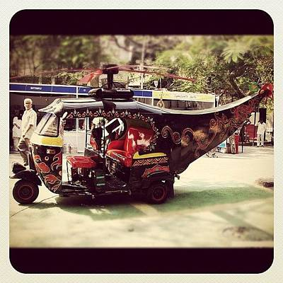 Helicopter Photograph - Rickshaw-copter! by Manan Shah