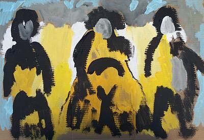 Riders Of The Purple Sage Art Print by Jay Manne-Crusoe