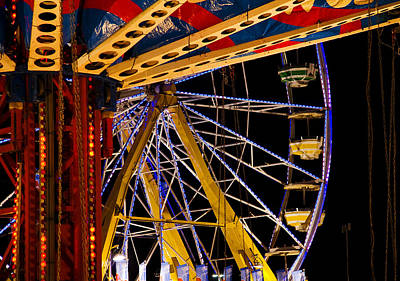 Photograph - Rides by Michael Friedman