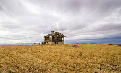 Photograph - Ridge Top School by Jean Noren