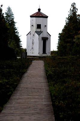Rural Photograph - Ridges Light House Wisconsin by LeeAnn McLaneGoetz McLaneGoetzStudioLLCcom