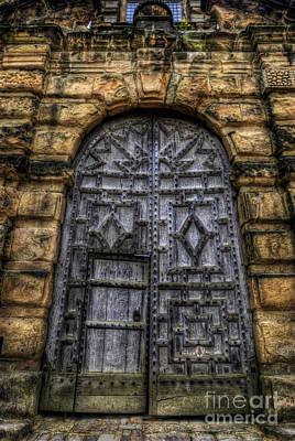 Photograph - Riding School Door - Bolsover Castle by Yhun Suarez
