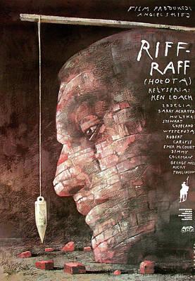 Mixed Media - Riff - Raff  by Wiktor Sadowski