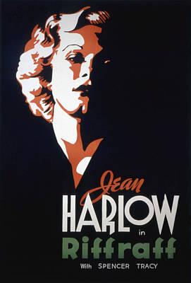 Riffraff, Jean Harlow, 1935 Art Print by Everett