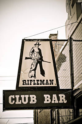 Advertising Photograph - Rifleman by Marilyn Hunt