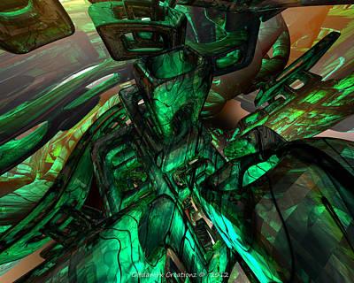 Bookmarks Digital Art - Right Angle Ending Fx  by G Adam Orosco