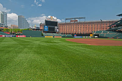- Right Field At Oriole Park At Camden Yard by Paul Mangold