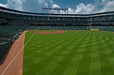 - Right Field Of Oriole Park At Camden Yard by Paul Mangold