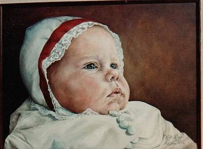 Painting - Rigmore's Baby by Ruth Gee