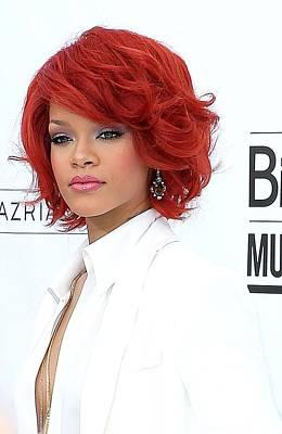 Rihanna At Arrivals For 2011 Billboard Print by Everett