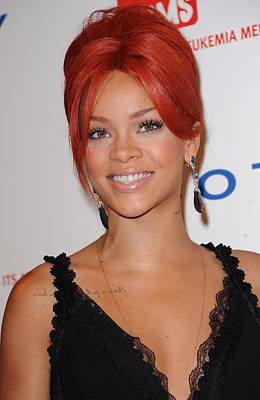 Cipriani Restaurant Wall Street Photograph - Rihanna At Arrivals For Dkms 5th Annual by Everett