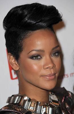 Rihanna Wall Art - Photograph - Rihanna At Arrivals For The 3rd Annual by Everett