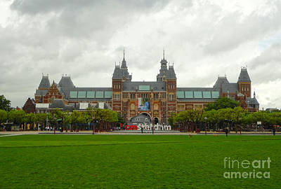 Rijksmuseum- 04 Art Print by Gregory Dyer