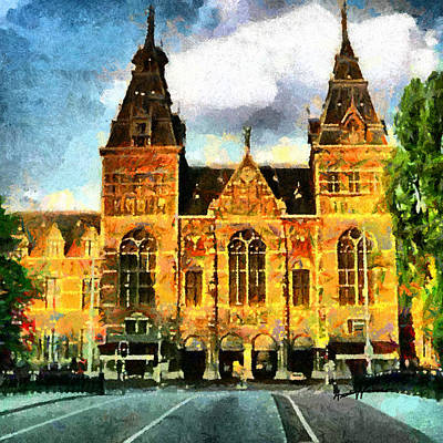 Rijksmuseum Art Print by Anthony Caruso