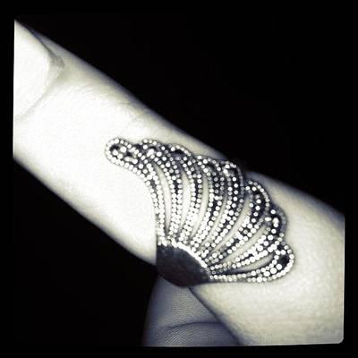 Jewelry Wall Art - Photograph - #ring #jewelry #hand #thumb #girlfriend by Kirk Roberts
