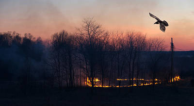 Manitoulin Photograph - Ring Of Fire. by Kelly Nelson