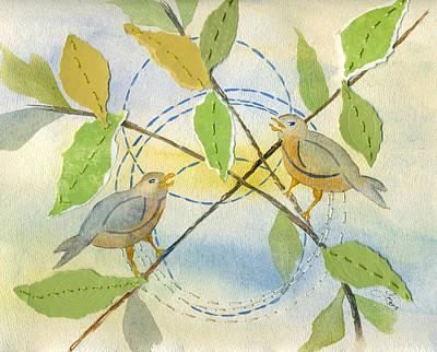Ring Symbology Art Print