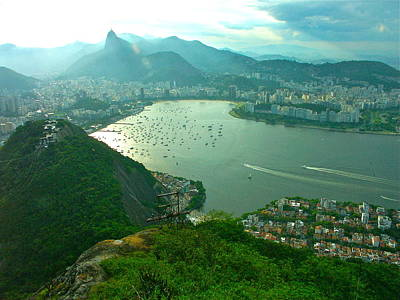 Rio De Janiero. Breathtaking  Art Print by Michael Clarke JP