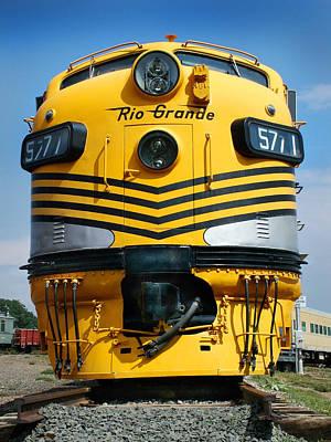 Colorado Railroad Museum Photograph - Rio Grande At Its Prime by Ken Smith