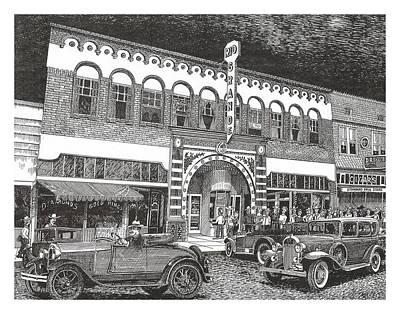Rio Grande Theater Art Print by Jack Pumphrey