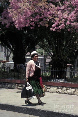Photograph - Riobamba Woman Ecuador by John  Mitchell