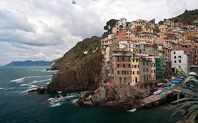 Photograph - Riomaggiore by Mike Reid