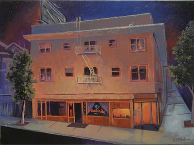 Stiff Painting - Landlord Jim's  by Benjamin DeHart