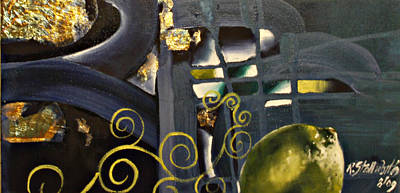 Painting - Ripe II by Raquel Stallworth
