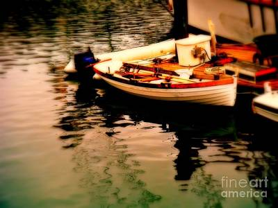 Ripples And Reflections Print by Kevin Moore