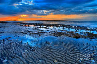 Photograph - Ripples In The Sand by Adam Jewell