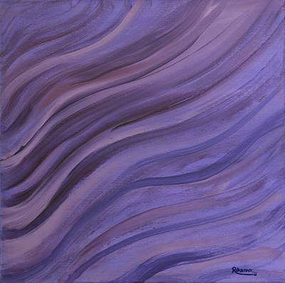 Painting - Ripples In The Sand by Judy M Watts-Rohanna
