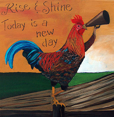 Painting - Rise And Shine by Racquel Morgan